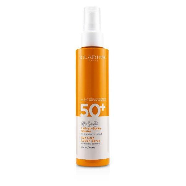 Buy CLARINS - Sun Care Body Lotion Spray SPF 50 150ml/5oz Singapore