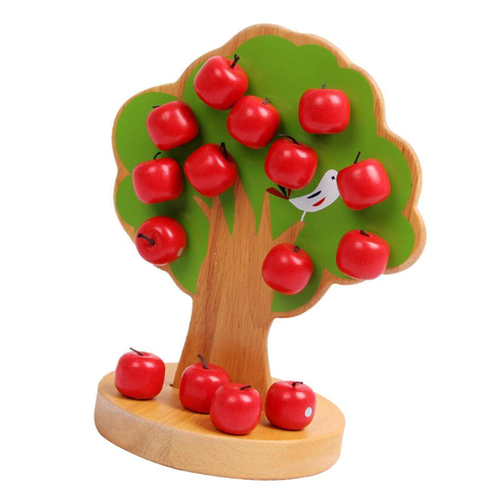 Perfk Baby Wooden Toys Math Toy Baby Learn Educational Montessori Gifts
