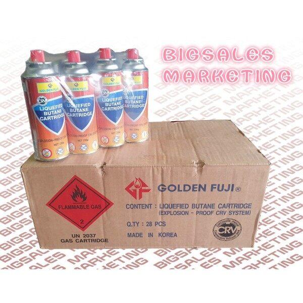 28PCS x 230G Or 1 Carton GOLDEN FUJI Butane Cartridge Portable Stove Gas Camping Use