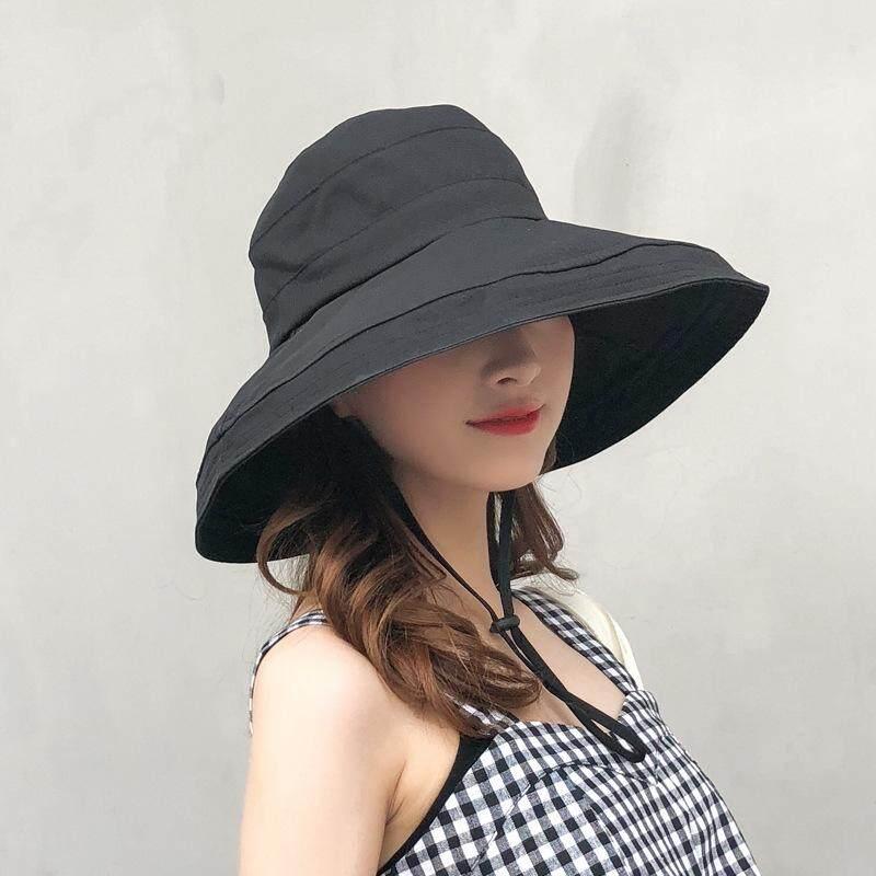 e9e267f6296901 Fisherman Hat Lady Summer Sunshade Korean Wild Outdoor Leisure Travel Beach  Sand Hat Sunscreen Sun Hat