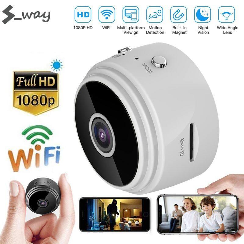 Camera An Ninh Mini S _ Way A9 Wifi, Camera Giám Sát Không Dây Nhìn Đêm, Loại Nhỏ DVR Chuyển...