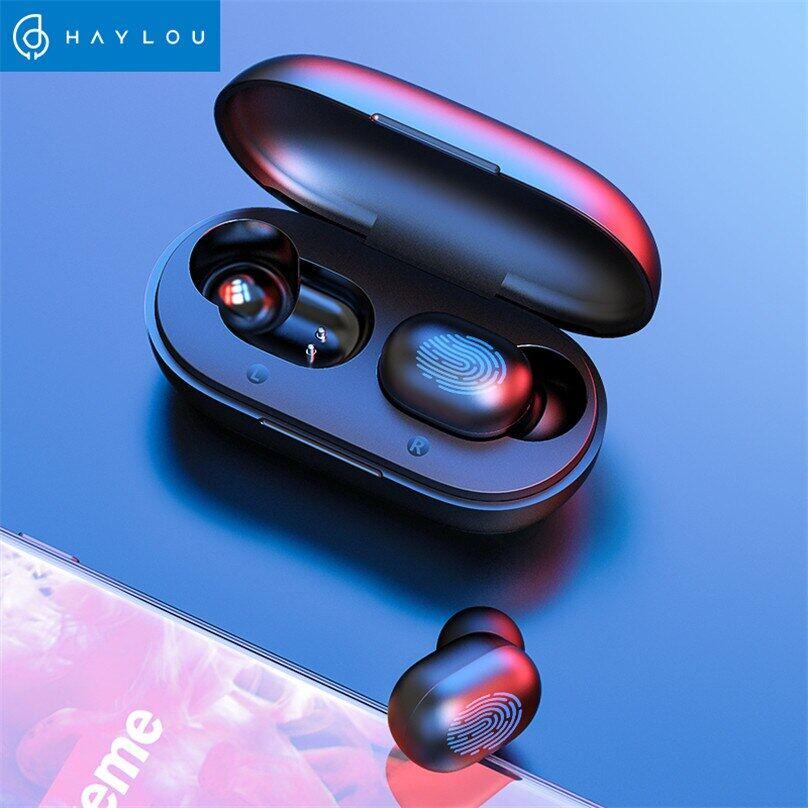 Tai Nghe Bluetooth Cảm Ứng Vân Tay GT1 TWS, Tai Nghe Không Dây Âm Thanh Nổi HD, Tai Nghe Chơi Game Khử Tiếng Ồn