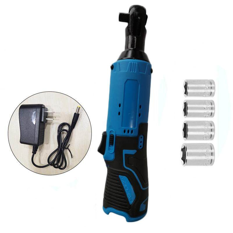 Tool Ratchet Wrench Socket Cordless Kit 230rpm 12V Rechargeable Automotive machinery Useful