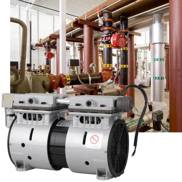 220V 370W Oilless Piston Vacuum Pump 680mmHg/-90.6kpa 100L/min High Flow Air Pump