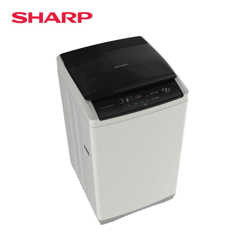 SHARP 7kg Steel Tub Washing Machine ES718X