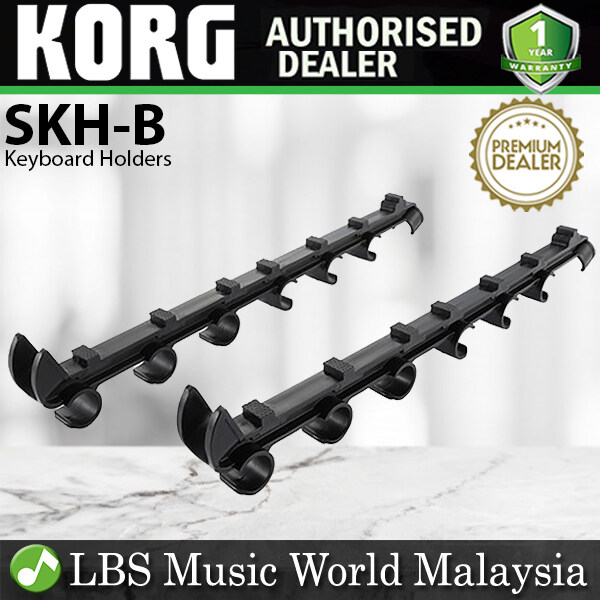 Korg SKH-B Sequenz Keyboard Holders for Keyboard Stand Tier Black Standard Series (SKHB SKH B) Malaysia