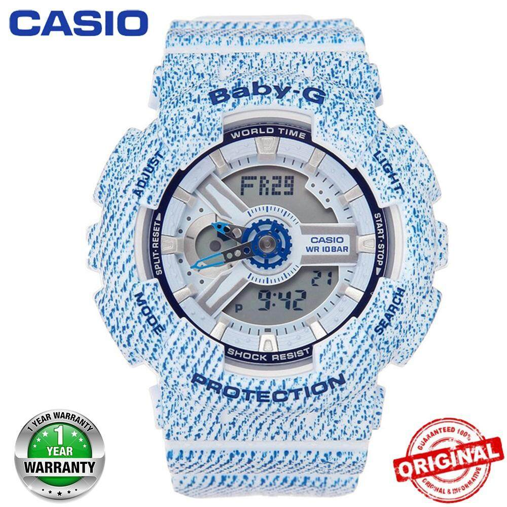 (Hot sale)Original Casio Baby-G BA110 Wrist Watch Women Electronic Sport Malaysia
