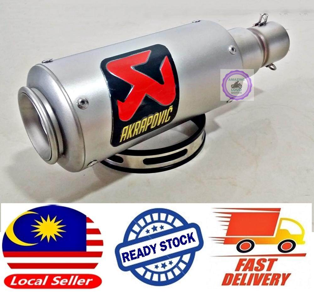 Akrapovic Muffler Racing Exhaust Motorcycle Slip On 51mm