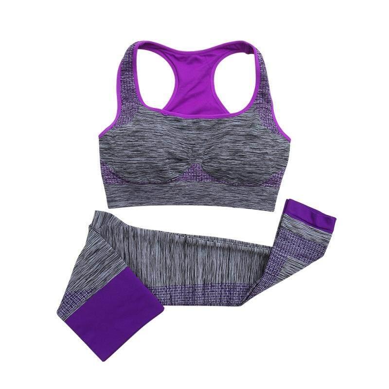 953dde415c4 Women Girls Fitness Sports Workout ClothingYoga Sports Bra+Slim Leggings  Pants