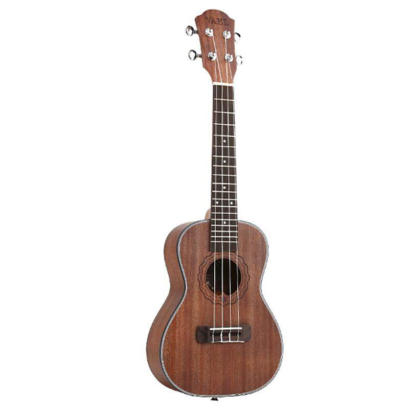 Yael 23 Inch Concert Ukulele 4 String Hawaiian Mini Guitar Uku Coffee Acoustic Guitar Mahogany Rosewood