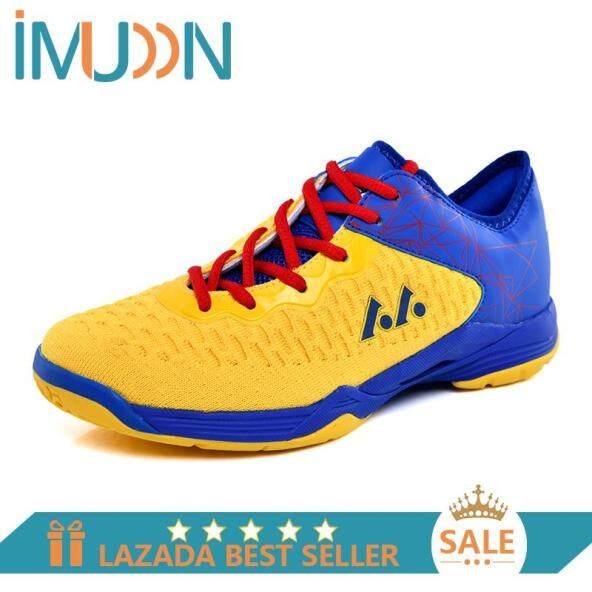 Giày Thể Thao Imudon Cho Nam Nữ, Giày Tennis Chống Trượt Giày Thắt Dây Cho Vận Động Viên Tập Luyện Giày Đánh Cầu Lông Thoáng Khí Nhẹ giá rẻ