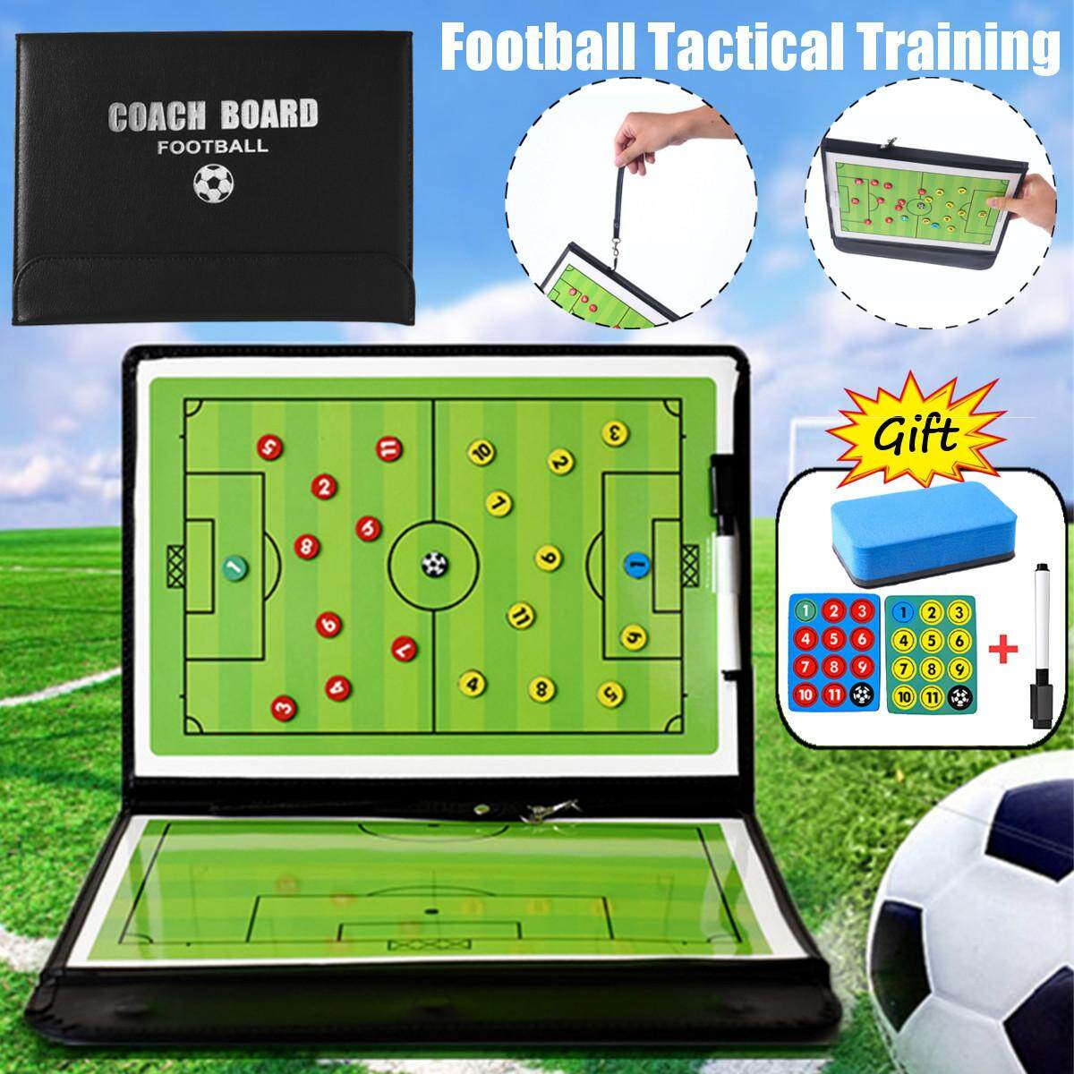 Football Training Board Magnetic Marker Pen Tactical Sided Strategy Match Training Kit