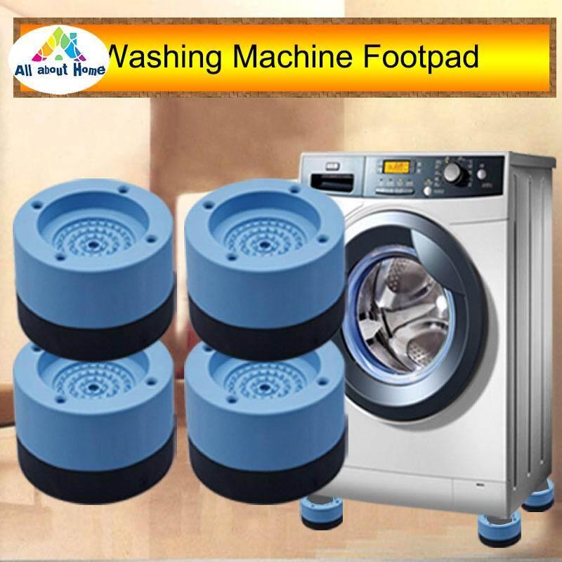 ABH 4 Pcs Washing Machine Refrigerator Mute Rubber Mat Anti Vibration Anti Shock Pad