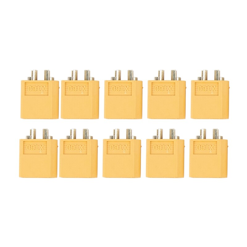 10 x Male RC XT60 Battery Connector