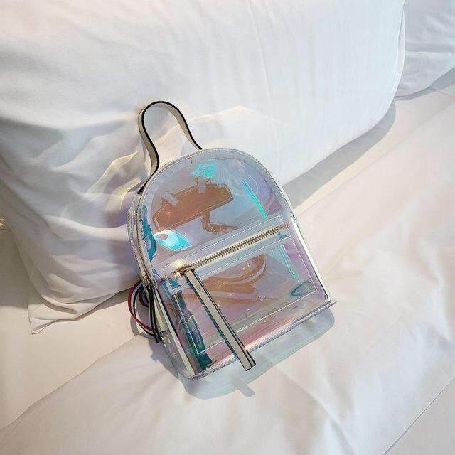 hanku LXFZQ childrens backpack for school school bag holographic plecak szkolny school bags laser mochila escolar infantil kids bag