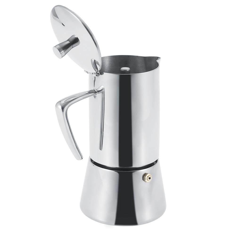 Image 4 for สแตนเลสเครื่องชงกาแฟมือ - ล้างหม้อหม้อกรองที่กรองชา Dripper SILVER