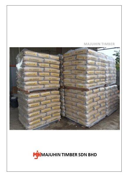 YTL Castle Cement 50kg [Majuhin]