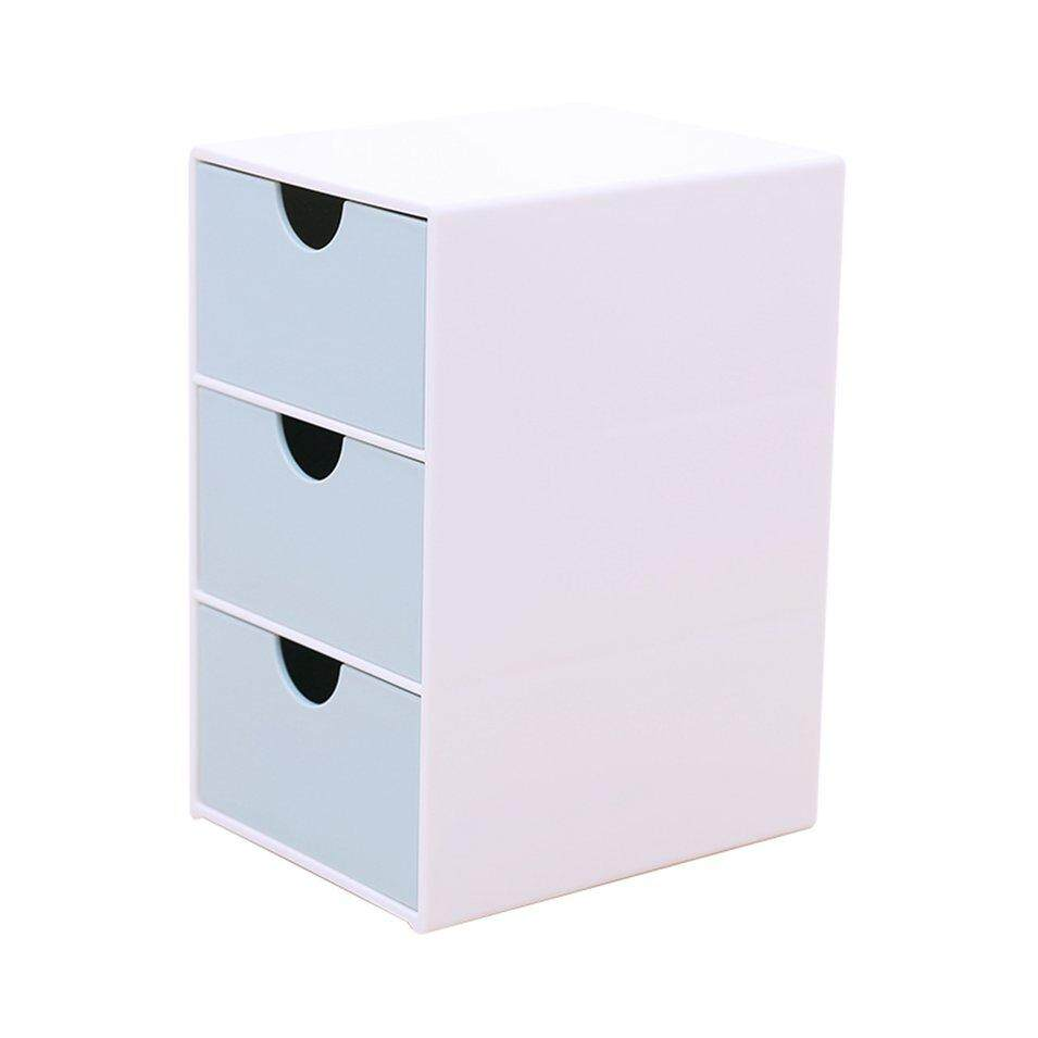 Hot Sales Sd-9038 Three Compartment Drawer Storage Box