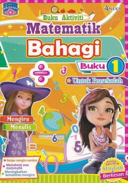 Siri Mawar Buku Aktiviti Matematik Bahagi Buku 1 (Saiz A5) Malaysia
