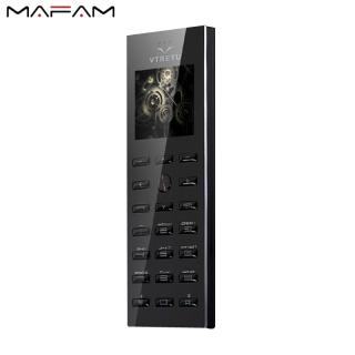 MAFAM 2021 Điện Thoại Di Động Mini Vertu V02 Điện Thoại Di Động Chữ Ký Cho Sinh Viên SIM Kép Với MP3 FM Camera Phía Sau Làm Trình Quay Số Bluetooth - Hàng quốc tế Lưu ý thời gian giao hàng dự kiến thumbnail