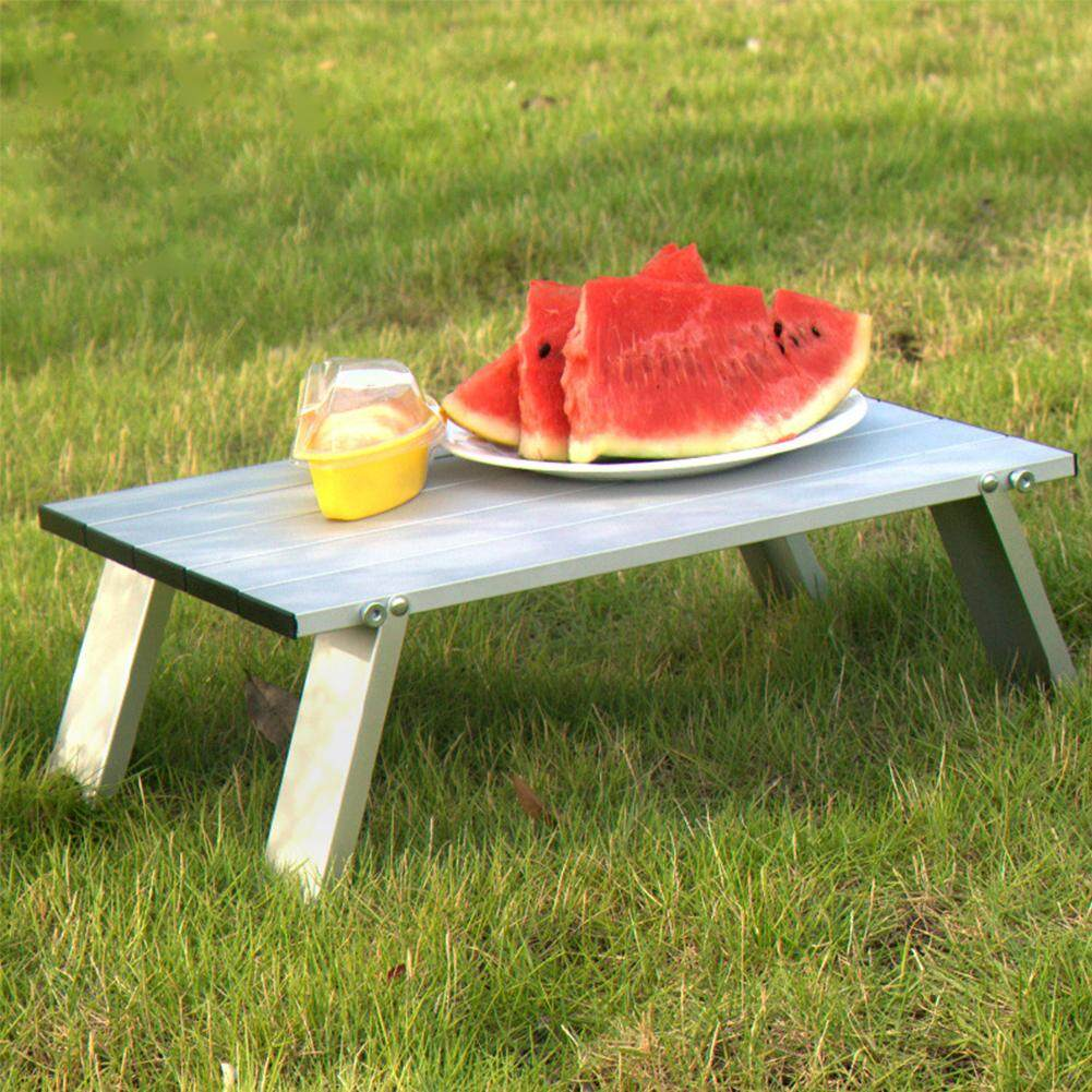 Travel Portable Aluminum Alloy Home Save Space Practical Easy Installation Outdoor Furniture Foldable Picnic Camping Tables