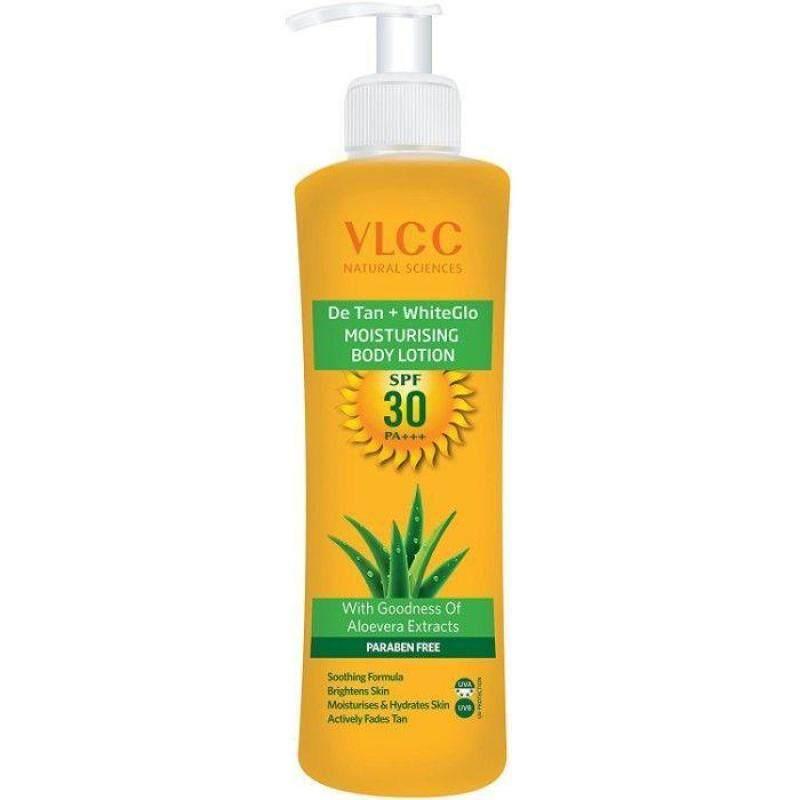 Buy VLCC DeTan + WhiteGlow Moisturising Body Lotion SPF 30 PA+++ (350 ml) Singapore