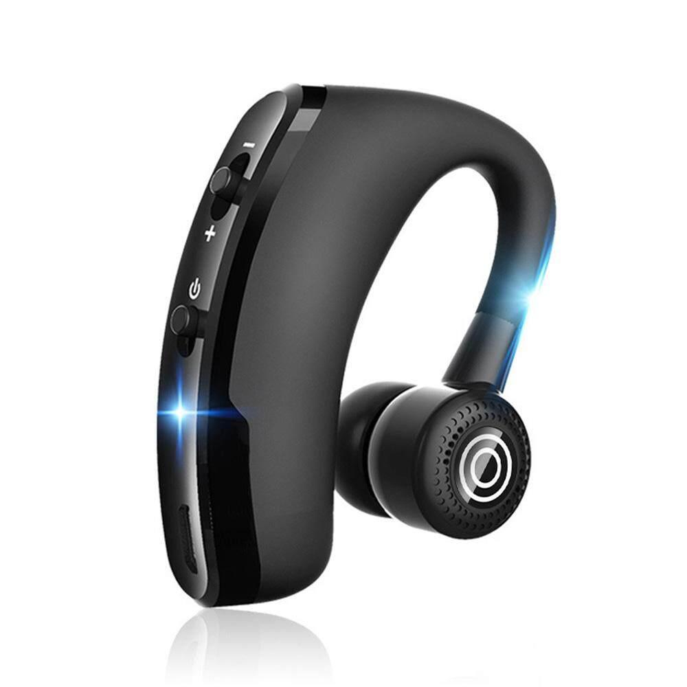 Fang Fang Wireless Kontrol Suara Musik Olahraga Bluetooth Hands-Free Earphone 3D Hi Fi Headphone
