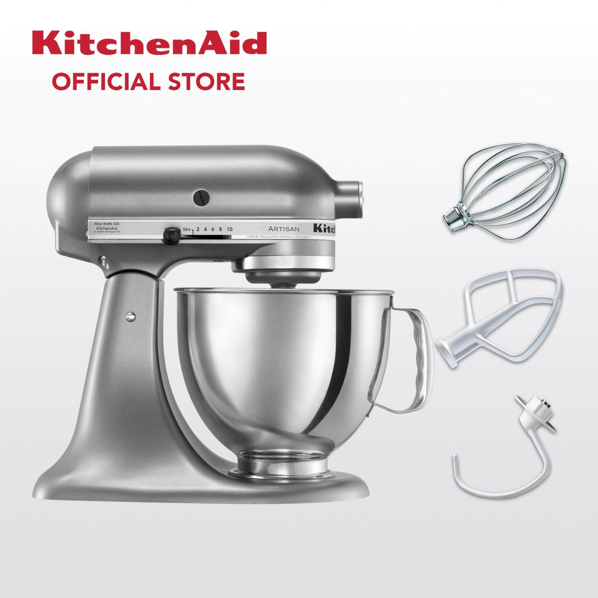 Kitchenaid Artisan 4 8 L Tilt Head Stand Mixer 5ksm125 Contour Silver