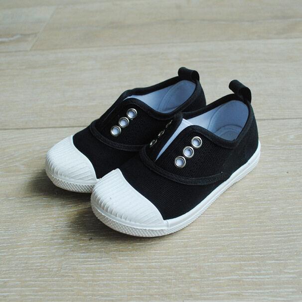 Giày Vải Nhiều Màu Có Khóa Đầu Gối Cho Trẻ Em, Giày Vải Mềm Thường Ngày Đế Mềm Chống Đá giá rẻ