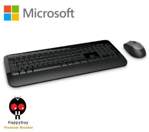 Microsoft Wireless 2000 BlueTrack Desktop Combo Keyboard & Mouse M7J-00019 Malaysia