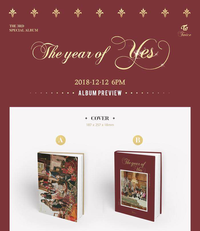 TWICE - THE 3RD SPECIAL ALBUM  (VERSION RANDOM  / Folded Poster)