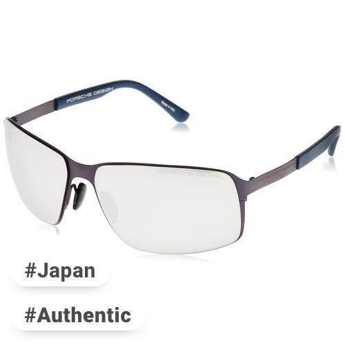 5327155166f PORSCHE DESIGN glasses Men s Blue Japan 63 FREE size