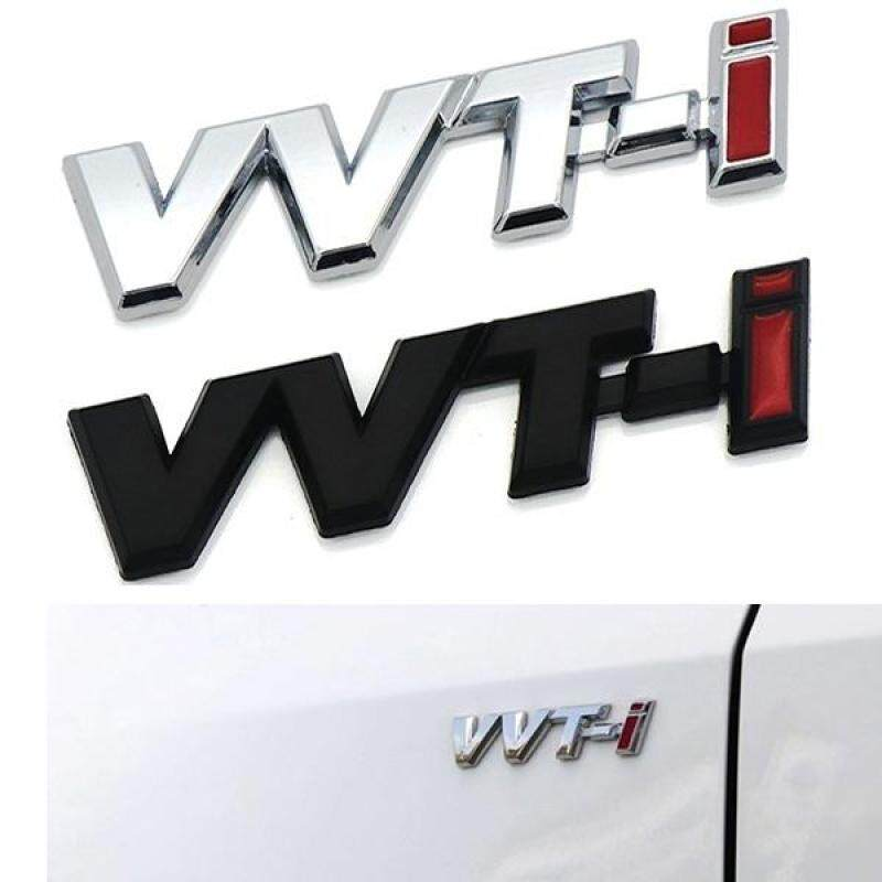 Miếng Dán Xe Ô Tô Biểu Tượng Fender Biểu Tượng Tự Động Bên Cánh Gió Biểu Tượng Decal Cho Toyota Vvt-I VVTi Logo Camry Corolla Rav4 Yaris Chr Auris Avensis Reiz