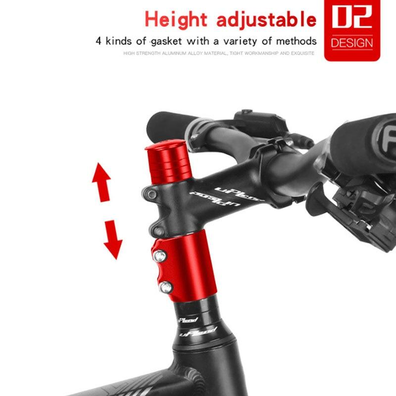 Bicycle Fork Stem Extender Mountain Bike Handlebar Riser Extension Adapter Parts