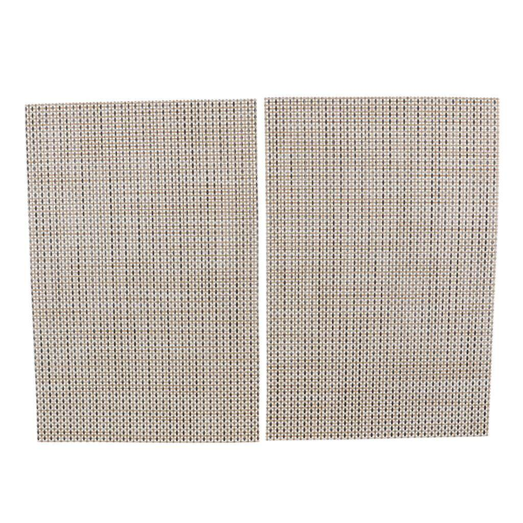 Bolehdeals Placemat Non-Slip Insulation Placemat Washable Table Mats Set Of 2 By Bolehdeals.