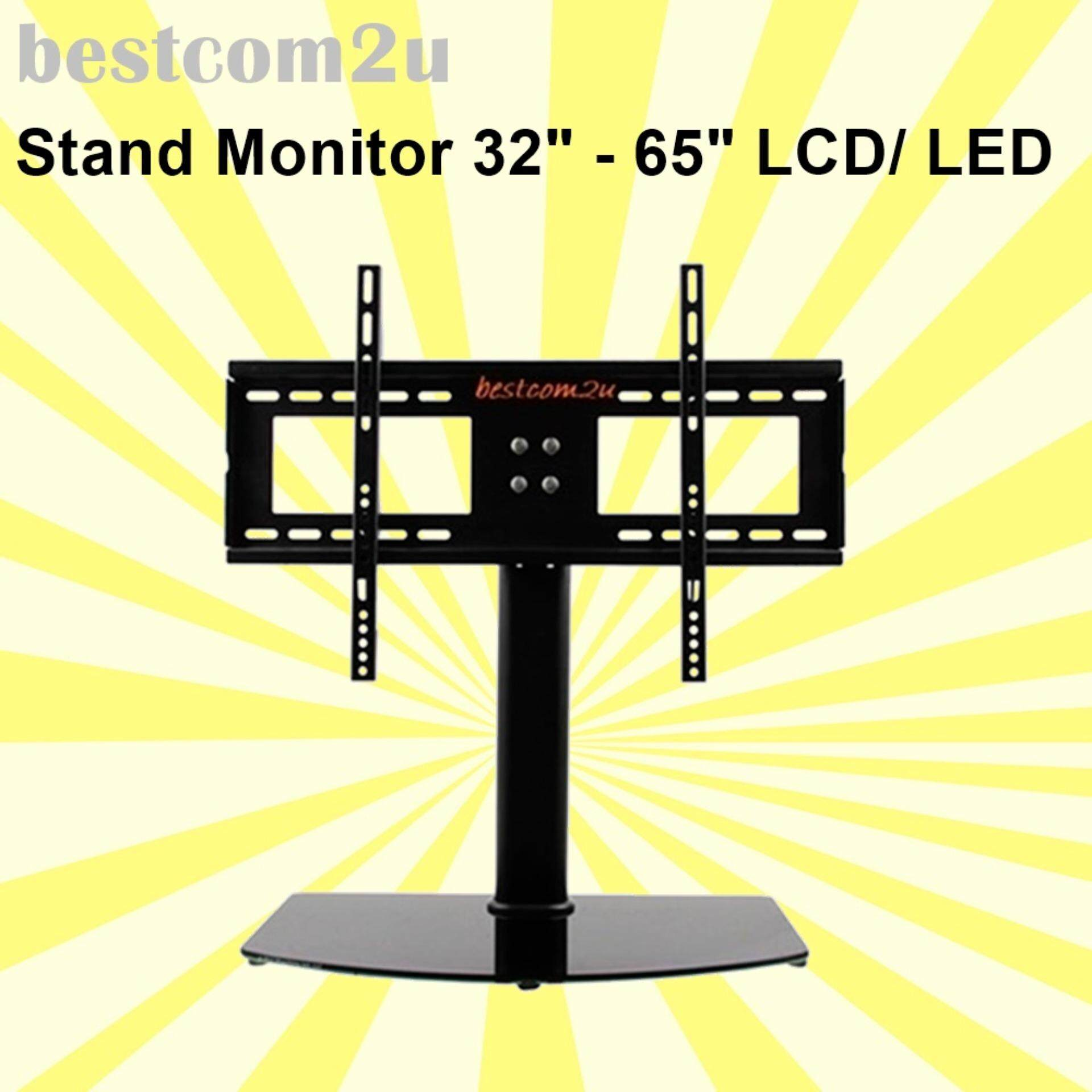 Stand Monitor 32- 65 Inch LCD LED Desktop TV Bracket Wall Mount