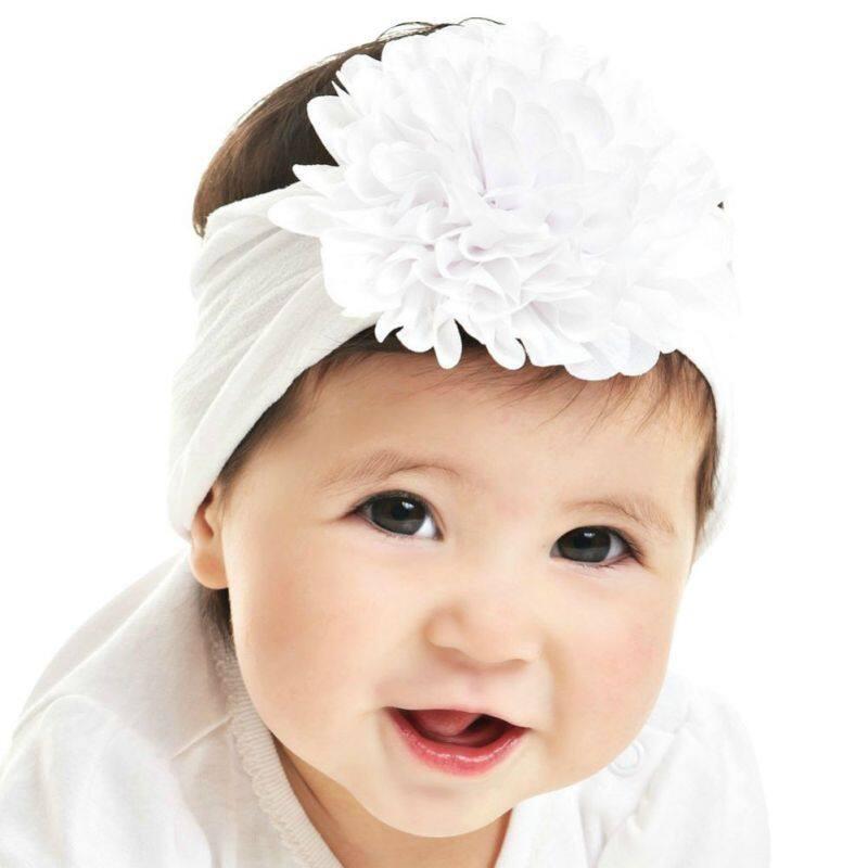 Giá bán Trẻ Sơ Sinh Trẻ Em Nylon Tóc Bé Voan Hoa Co Giãn Đầu Bé Gái Mũ Trùm Đầu