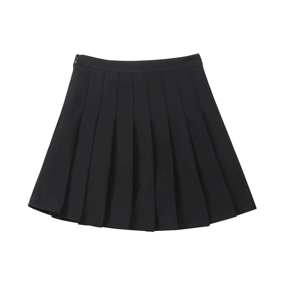 Giá bán Cô Gái Váy Chữ A 8 váy xếp ly chân váy bé gái mùa hè mới Hoang Dã váy bé gái váy LB13-TDQ-1801