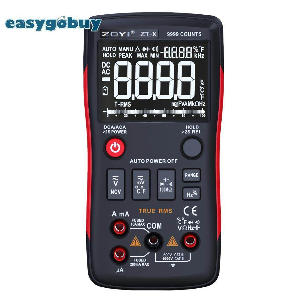 [easygoingbuy]ZOYI ZT-X True RMS Digital Multimeter Auto-ranging Voltage Current Meter