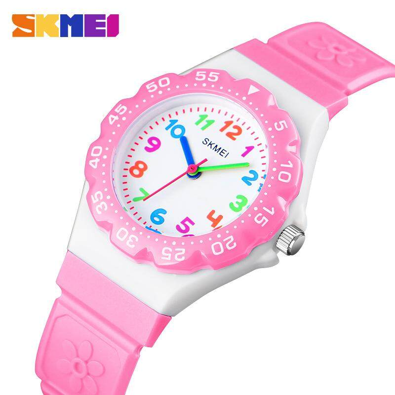 SKMEI New Kids Watches Outdoor Sports Wristwtatch Boys Girls Waterproof Quartz Children Watches 1483 Malaysia