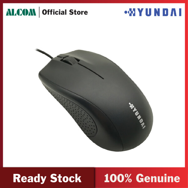 Hyundai HY-M90 Optical USB Wired Mouse Computer Mouse Mice with 1000 DPI Resolution & Precise Positioning for Business Office Home Malaysia