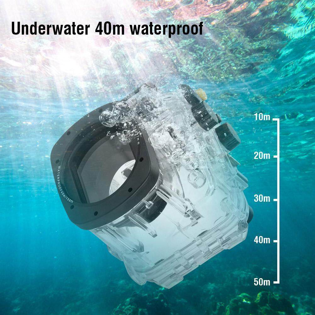【up To 40% Off】40m 130ft Underwater Waterproof Diving Housing Case For Canon G16 Camera By Fashionf Mall.