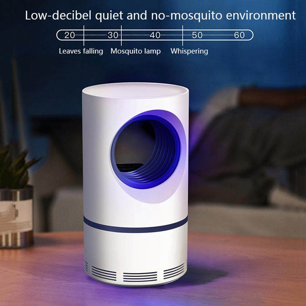 Aolvo Photocatalyst Mosquito Killer Lamp Mute Electric Usb Powered Insect Pest Bug Catcher Killer Non-Toxic Chemical-Free Uv Led Quiet Safe And Effective Indoor Trap For Kids Baby By Aolvo.