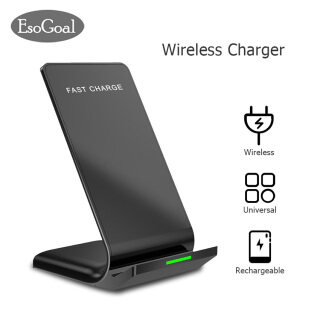 EsoGoal Wireless Chargers Universal Mobile Phone Charging Accessories Fast Charging Stand Fasts Quick Charge 10W Wire less Adapter Compatible for iPhone HUAWEI SUMSUNG XIAOMI thumbnail
