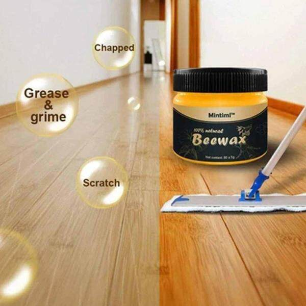 OutFlety Wood Seasoning Beewax Polish for All Natural Wood Seasoning Beeswax Furniture Polish Complete Solution Furniture Care Beeswax,Protect Enhance The Shine