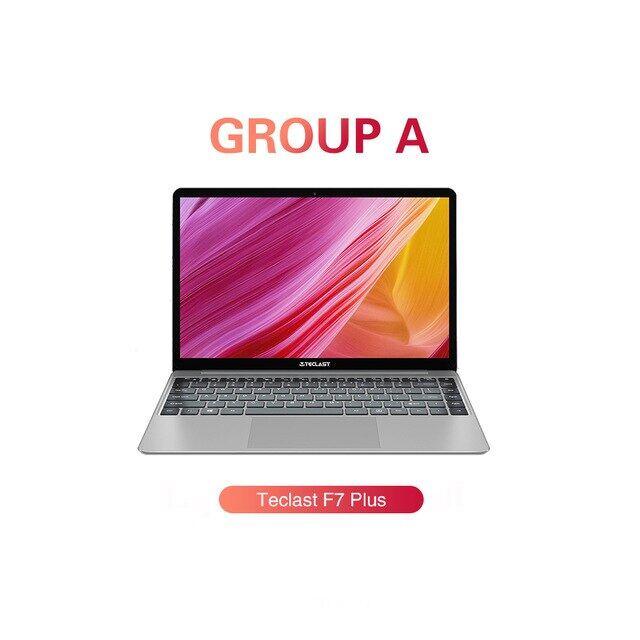 14.1 นิ้วแล็ปท็อป F7 Plus โน๊ตบุ๊ค Windows 10 1920x1080 Intel ราศีเมถุนทะเลสาบ N4100 Quad Core 1.1 กิกะเฮิร์ตซ์ 8 กิกะไบต์ Ram 256 กิกะไบต์ Ssd.