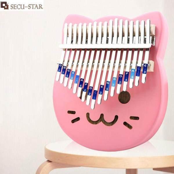 SECU-STAR 17 key Kalimba Thumb Piano Wood Musical Instrument Finger Piano Malaysia