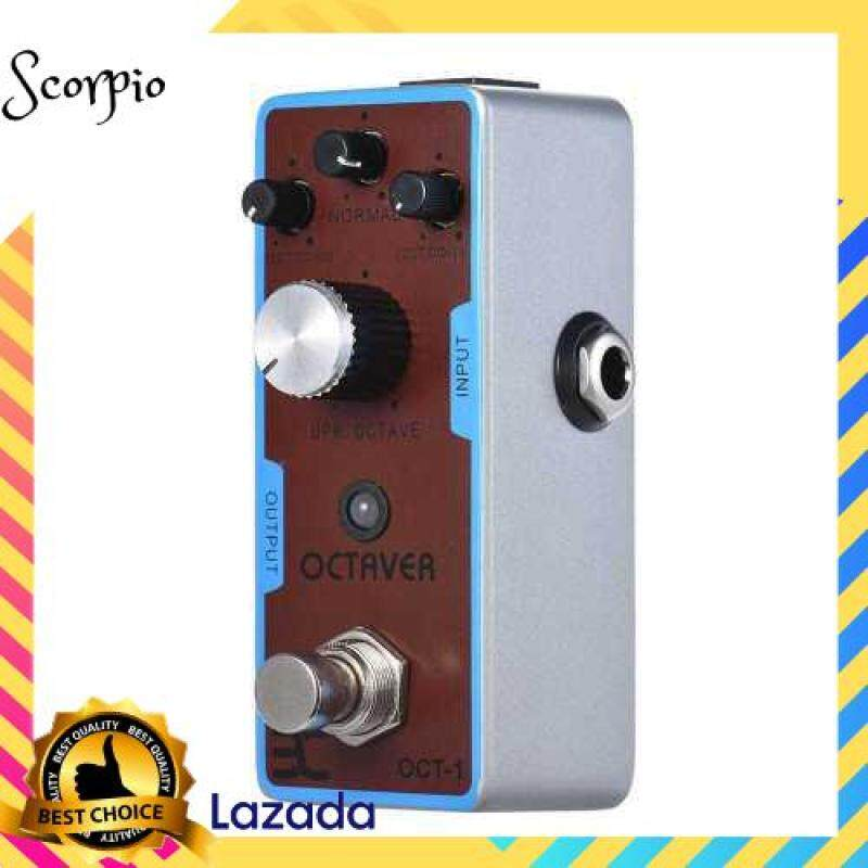 BEST SELLER ENO EX OCT-1 OCTAVE Mini Octave Guitar Effect Pedal True Bypass Full Metal Shell Malaysia