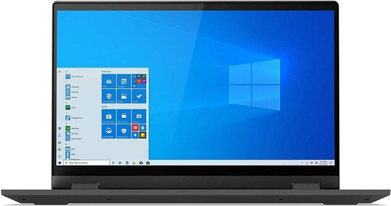 Lenovo IdeaPad Flex 5i 14 Convertible Laptop, FHD (1920 x 1080) Touch Display, Intel Core i3-1115G4 Processor, 4GB DDR4 RAM, 128GB SSD, Intel UHD Graphics, Win 10 in S Mode, 82HS000GUS, Graphite Grey Malaysia
