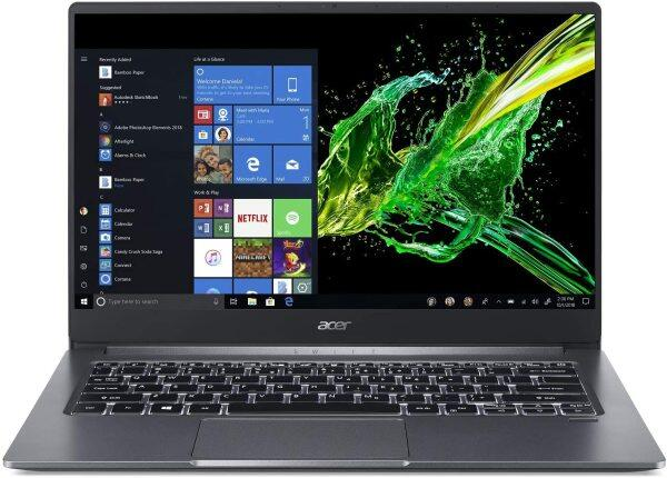 Acer Swift 3, 14 Full HD IPS, 10th Gen Intel Core i5-1035G1, 8GB LPDDR4, 256GB PCIe NVMe SSD, Intel Wireless Wi-Fi 6 AX201 802.11ax, Back-lit Keyboard, Windows 10, SF314-57-59EY, Gray Malaysia